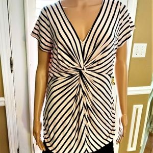 MOTHERHOOD MATERNITY Twist Knot Front Dress